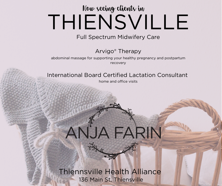 Midwife seeing clients in Thiensville Wisconsin